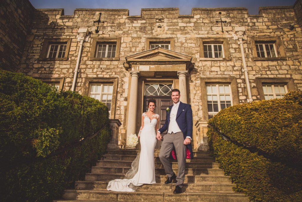 Hazlewood Castle Wedding Photography in Leeds – Yorkshire [ Jenna + Phill ]