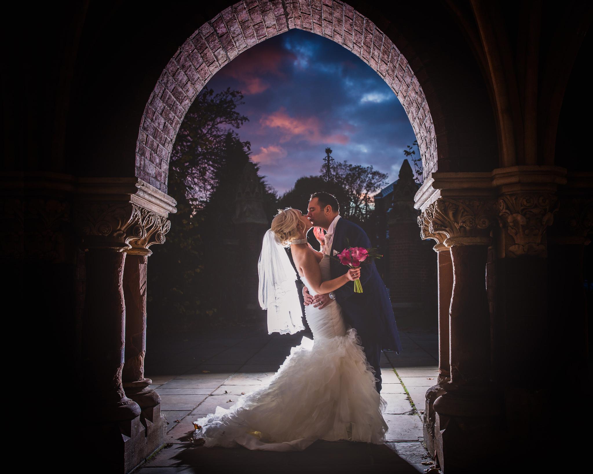 Church of All Saints: Emily & Chris Turkish Wedding Photoshoot
