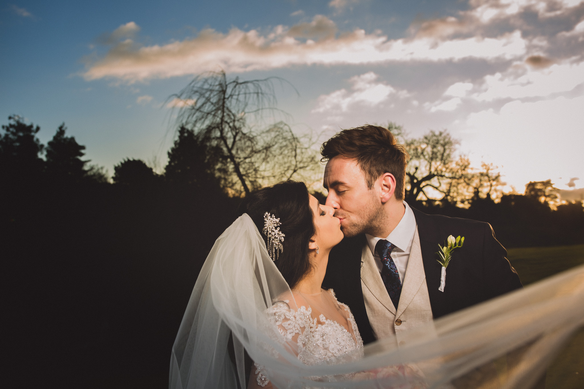 Northbrook Park: Zohreh & Kirk Wedding Photoshoot