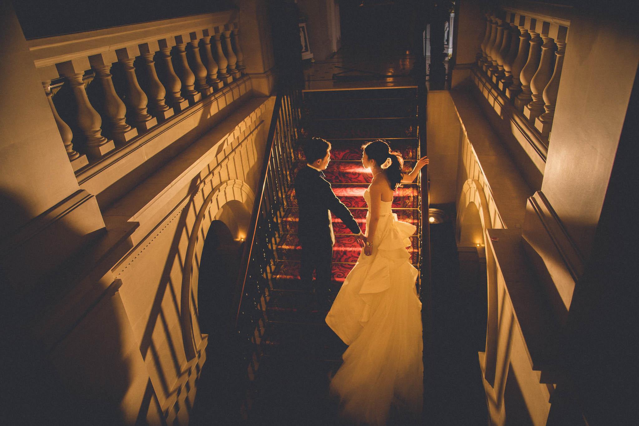 The Lanesborough: Jacqueline & Kent Wedding Photoshoot