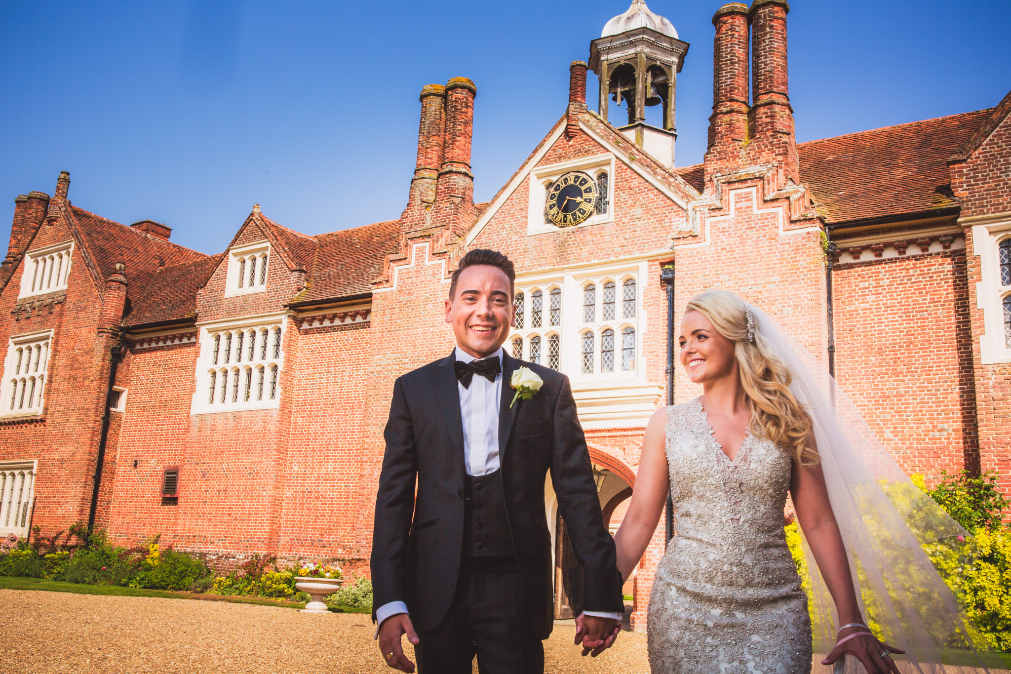Gosfield hall: Emma and Chris wedding photography