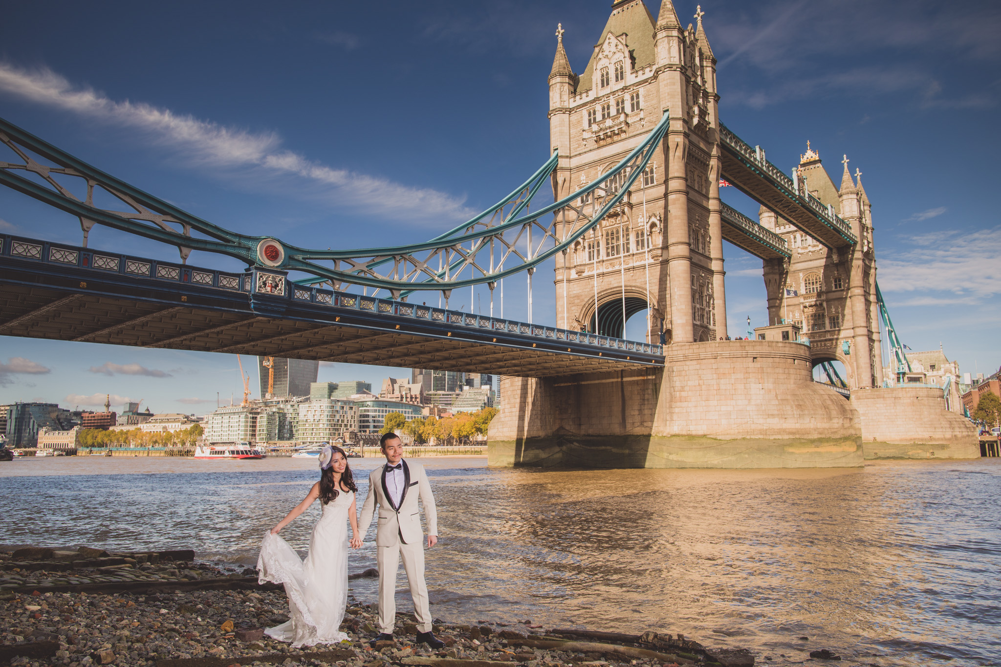 London: Candice and Robin Prewedding Photography