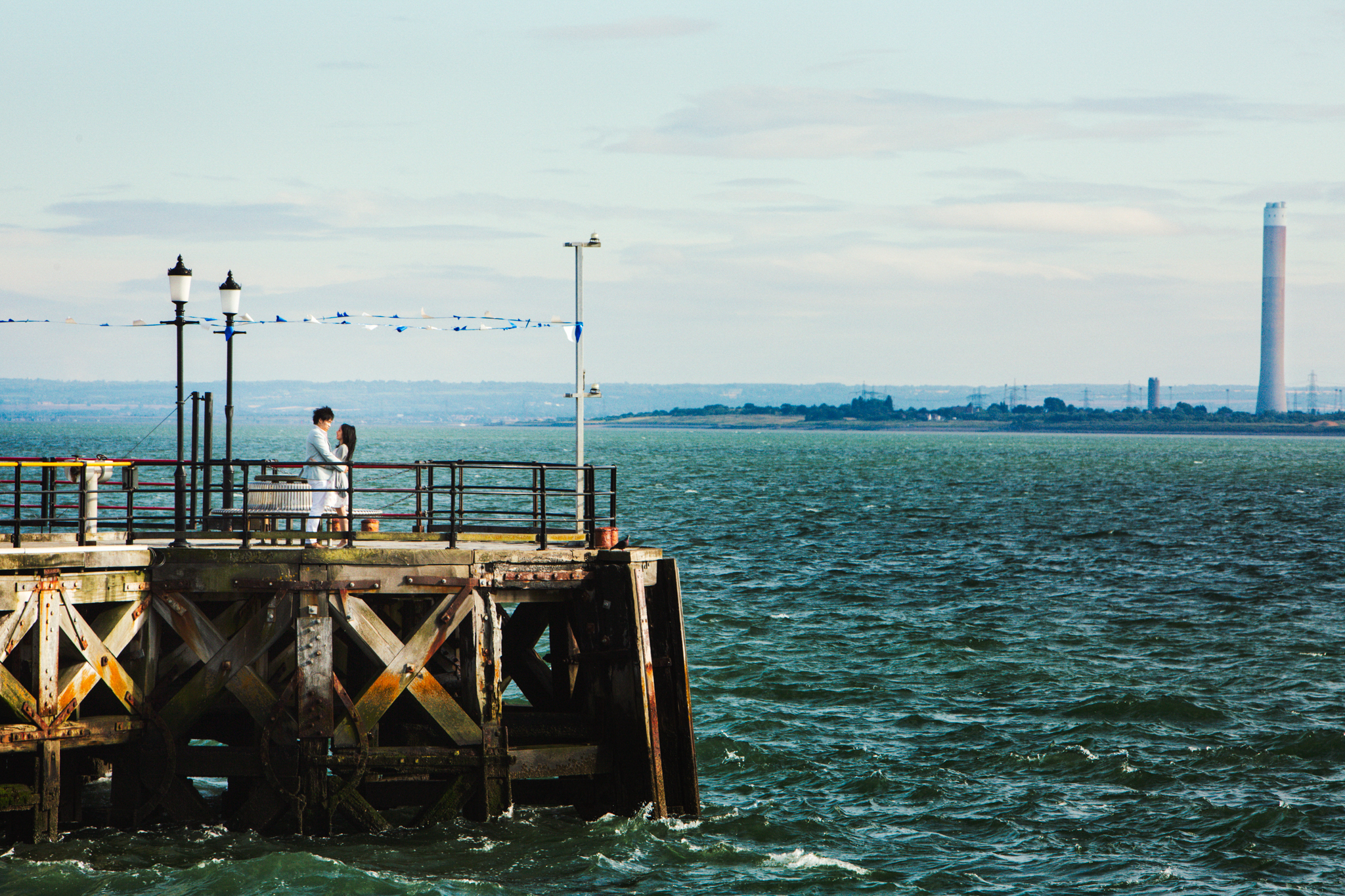 Southend on sea: Fiona and Alex Engagement photography