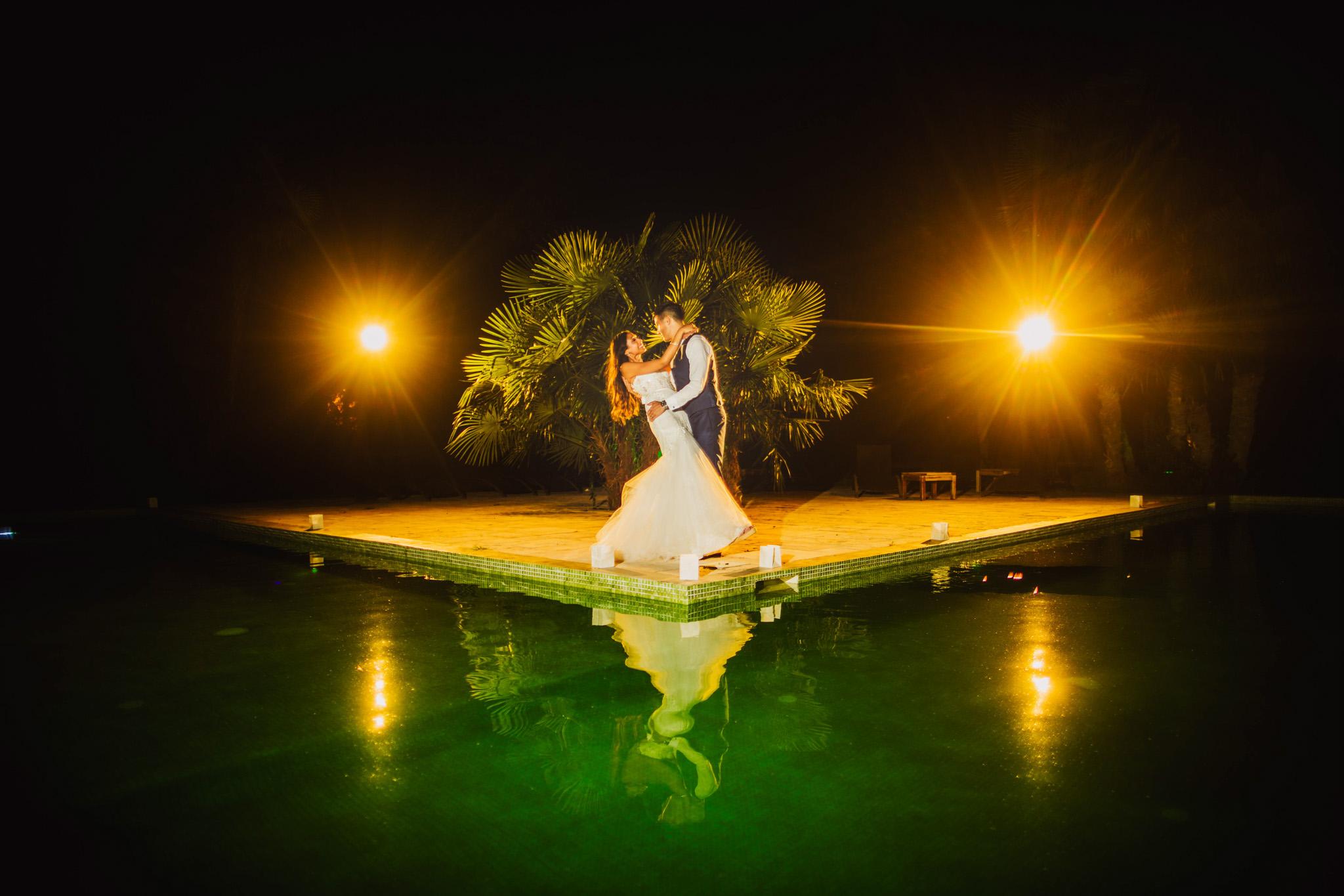 Mas Merlet Nimes South of France: Sabrina and Olivier wedding photography