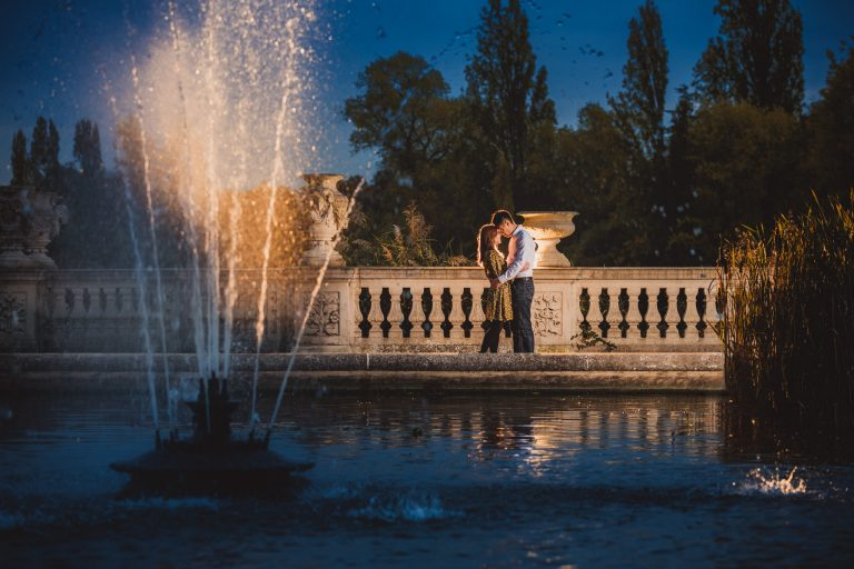 Royal Albert Hall & Hyde Park: Stephaine & Alastair Engagement Photography