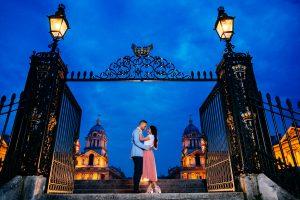 Greenwich Park: Reena & Shakti Engagement Photoshoot