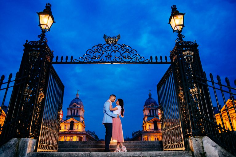 Greenwich Park: Reena & Shakti Engagement Photoshoot