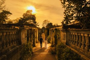 The Hill Garden and Pergola: YiLing & Stephen Engagement photos