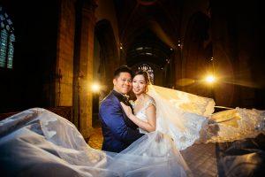 Beaumont Estate & Kingston All Saint church: Ada & Davion's Wedding