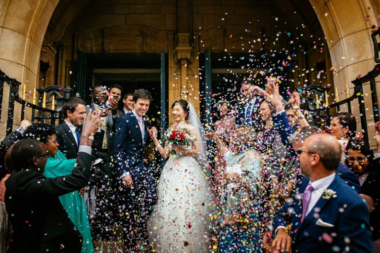 Cathedral of Saint Anne & Good Luck Club Leeds: Sandy & Will Wedding Photos