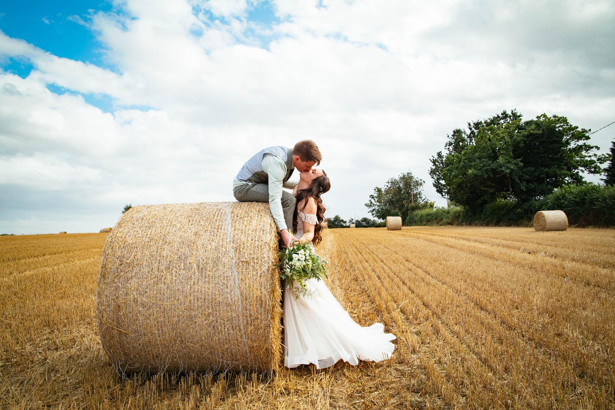 St Peter & St Paul church + Tipi Wedding: Rachel & Mike wedding photos