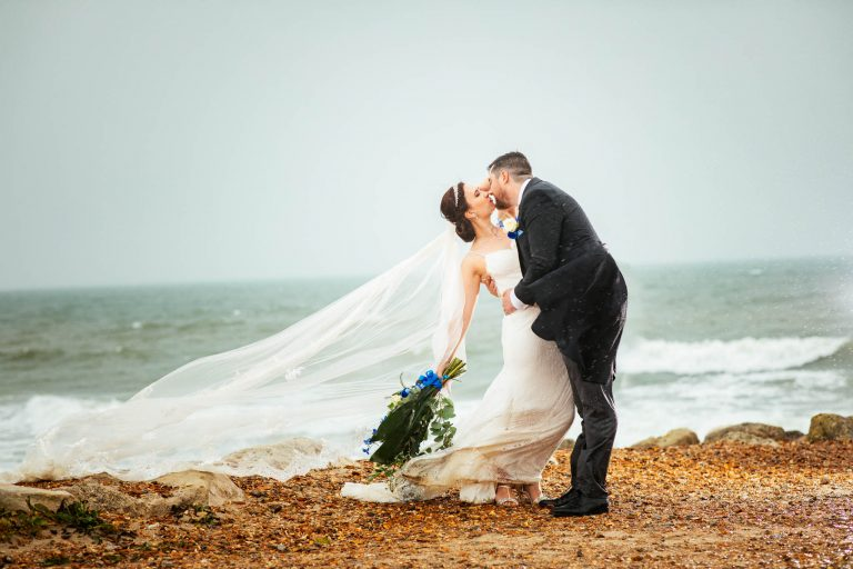 Highcliffe castle: Polina & Jason Wedding photos