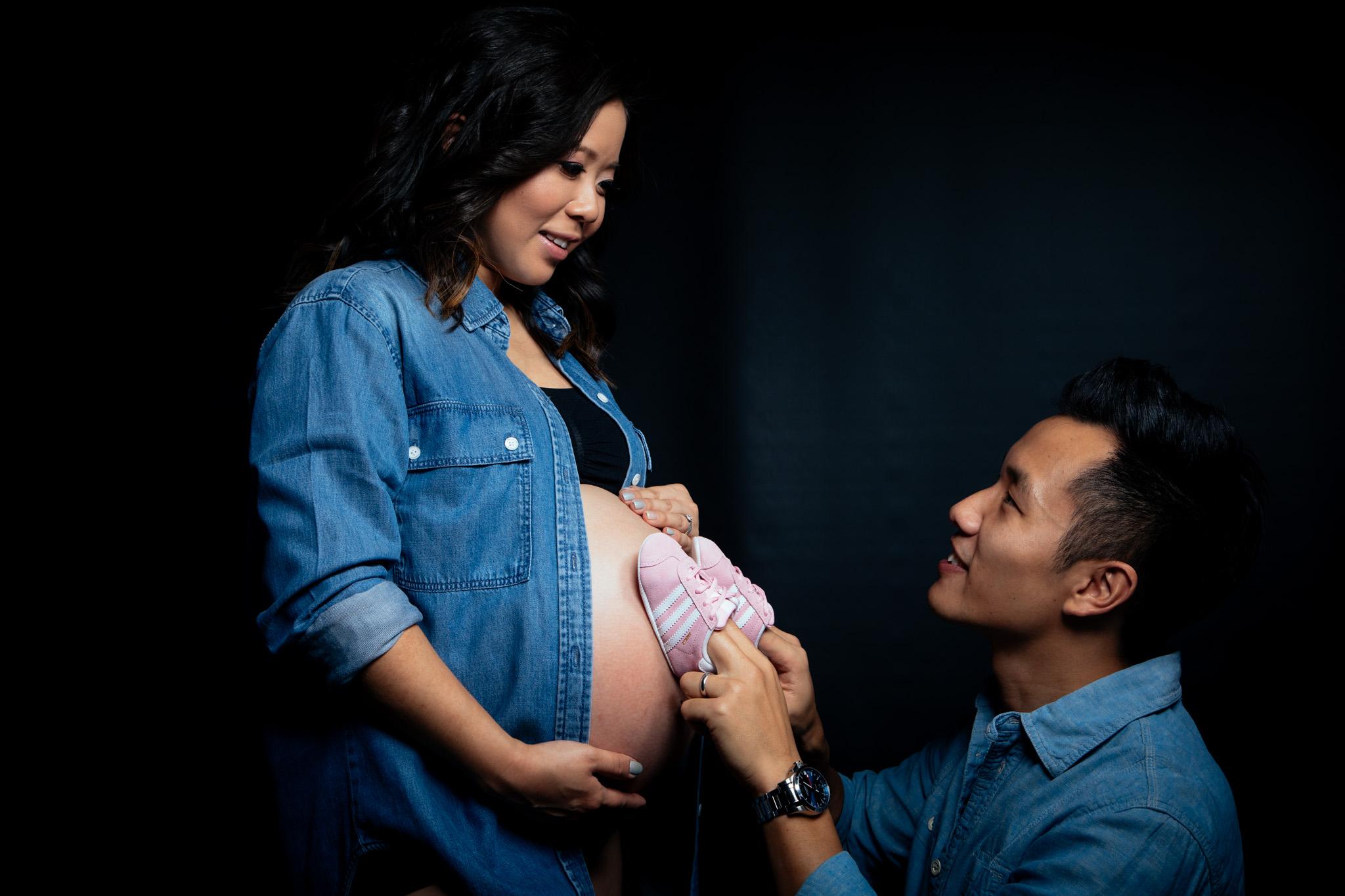 Maternity shoot: Elaine & Jeffrey