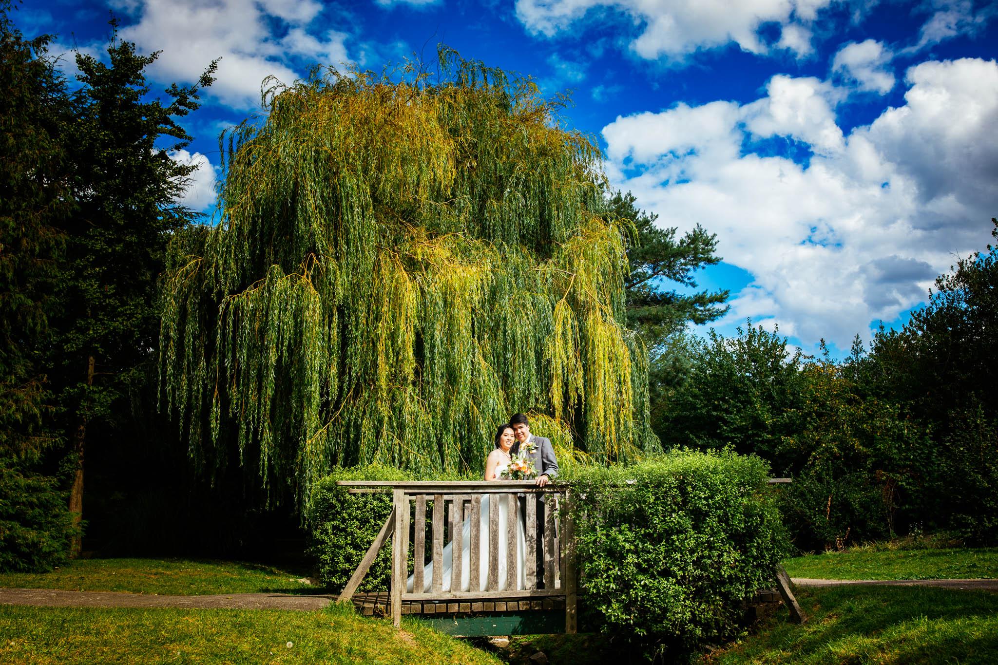 Tudor Barn Eltham + Well Hall Pleasaunce : Sao & Michael Wedding photos