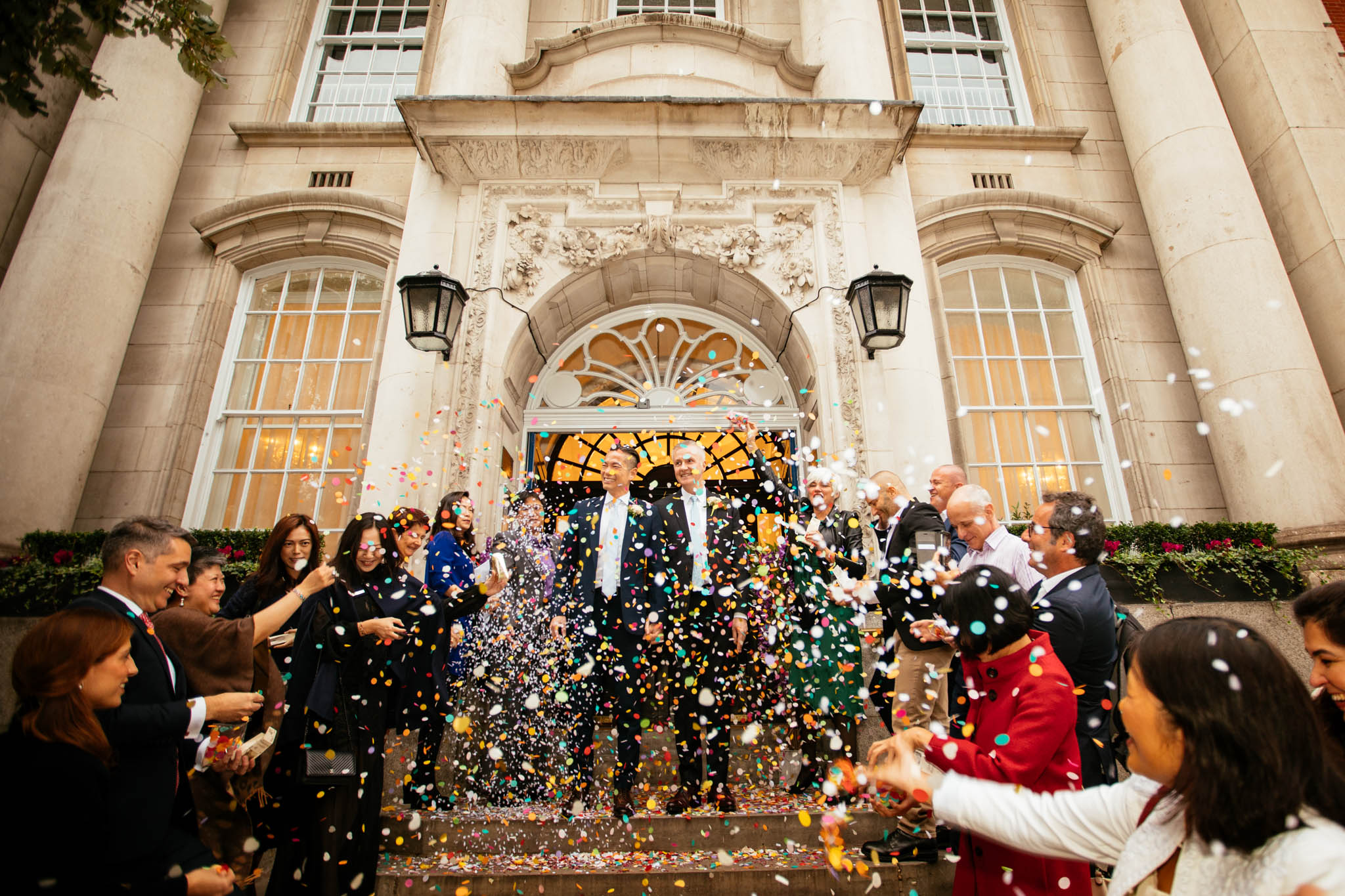 Chelsea old town hall + The Ivy Market Grill: Ivan & Bertrand wedding