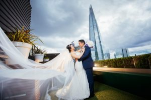 Hilton Tower Bridge: Angel & Phil wedding photos