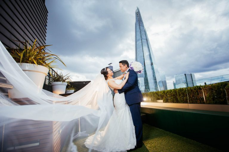 Hilton Tower Bridge: Angel & Phil wedding photos