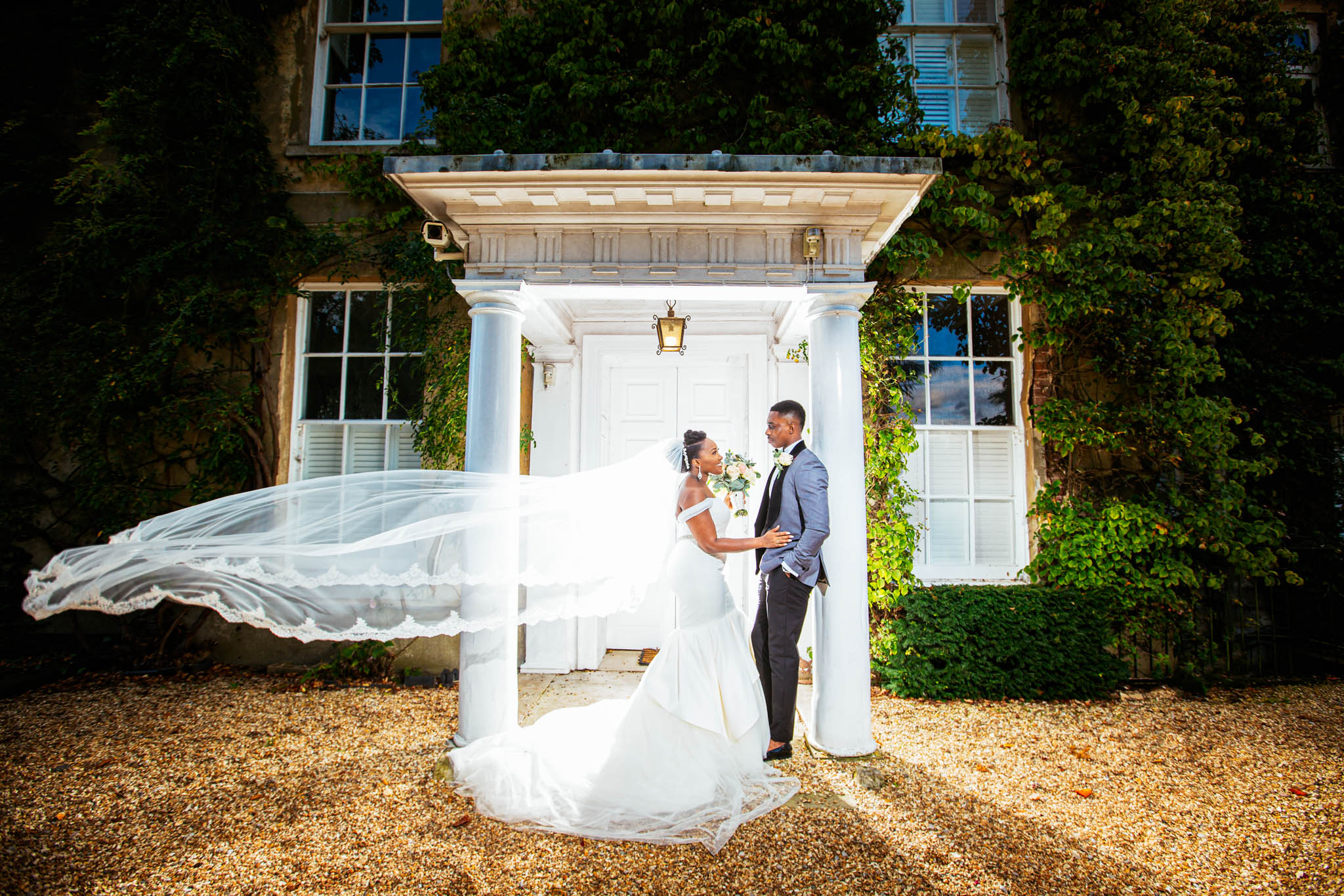 Northbrook Park: Rochelle & Vaughan Wedding Photo