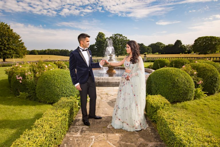 Parkland Quendon hall: Esha & Amit Wedding photo